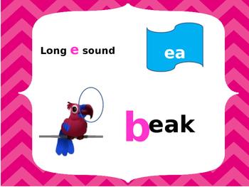 Long e sound