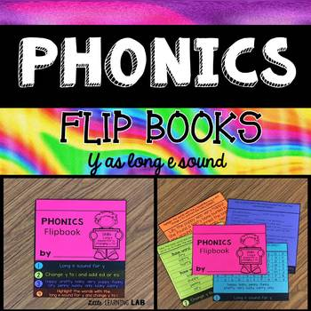 Journeys My Name is Gabriela | Y as Long e sound | Phonics Flip Book