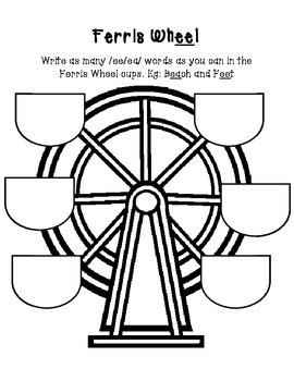 Long ee ea Ferris Wheel Phonics