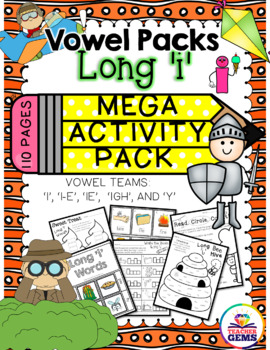 Long I Mega Activity Pack