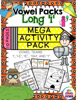 Long I Mega Activity Pack