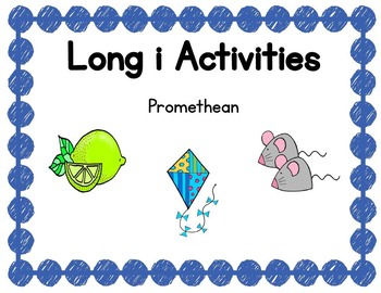 Long i Activities Promethean