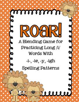 Long i Blending Practice (-i-, -igh-, ie, -y)