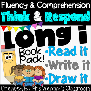 Long i Book: Think and Respond! 2 versions included!