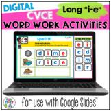 Long i CVCe Digital Word Work Activities for Google™