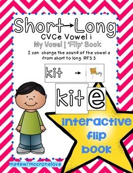 Long Vowel Patterns {Long i CVCe} Interactive Flip Book