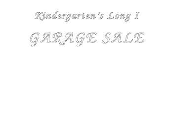 Long i Garage Sale