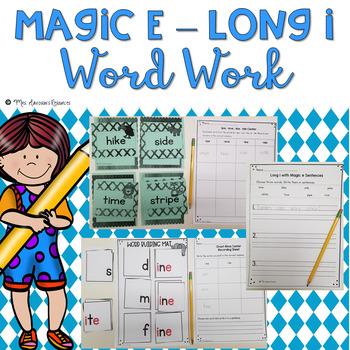 Long i Magic e Word Work