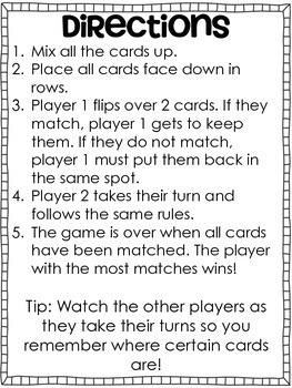 Long i Memory Game---Aligned with Reading Wonders Unit 3 Week 2