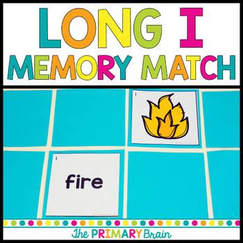 Long i Memory Match Game