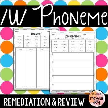 Long U Phoneme - Phonics Practice & Review