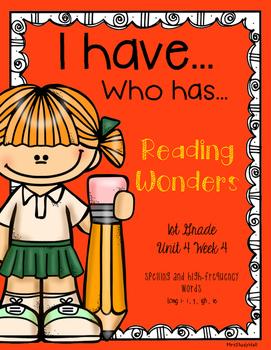 Long i Reading Wonders I have, Who has?