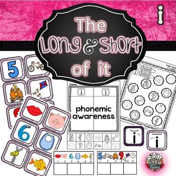 Long i Short i: Phonemic Awareness Activities