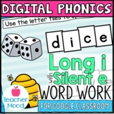 Digital Phonics Activities Long I Silent e Word Work Googl