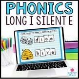 Long i Silent e Digital Phonics Word Work Google Classroom