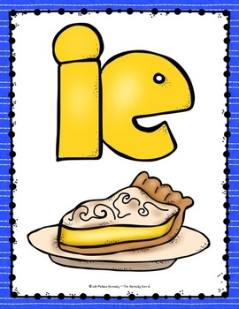 Work Word: Long I - IGH, IE, and Y sounds like i