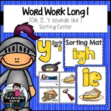 Work Word: Long I Vowel Teams: IGH, IE, and Y sounds like i