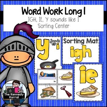 Long I: IGH, IE, and Y sounds like i