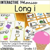 Long i Word Work Activities - Sorts, Worksheets & Poems