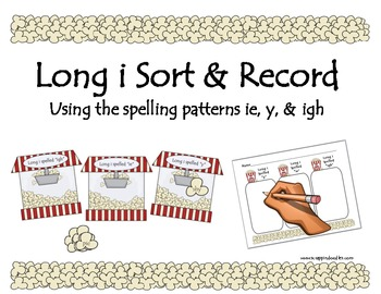 Long i Spelling Patterns y, ie, & igh