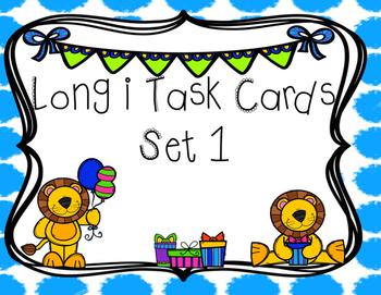 Long i Task Cards (i, igh, y)