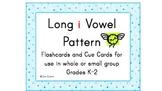 Long i Vowel Pattern Cards