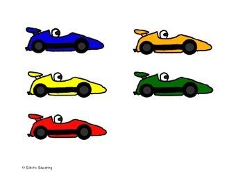 "Long 'i"" Vowel Pattern Racing Game"