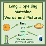 Long i Vowel Sound Matching Words and Pictures