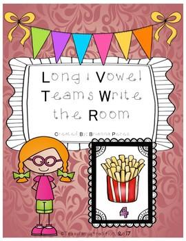 Long i Vowel Teams Write the Room