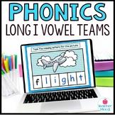 Digital Phonics Activities Long I Vowel Teams Word Work Go