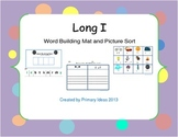 Long I Word Building Mats and Picture Sort