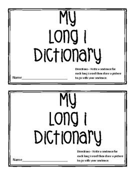 Long i Word Dictionary