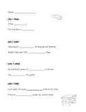 "Long ""i"" Worksheet- Simple and Fun!"