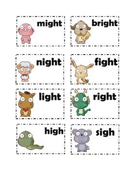 Long i cards (igh, i_e, y)