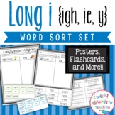Long i igh, ie, y Word Sort Set
