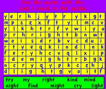 Promethean Board-Long i: -igh, -y, -i Flipchart. The Kite- Treasures First Grade