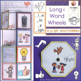 Long i words with i-e igh y and ie