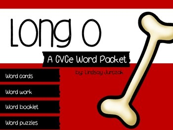 Long o CVCe Word Packet