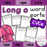 Long o Word Sorts CVCe