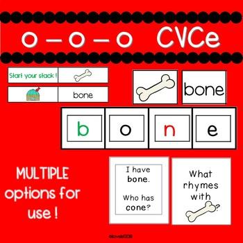 Long o CVCe fun and engaging activities!