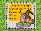 Halloween Long 'o' Digraph Activities, Games, Word Work-Fall Theme