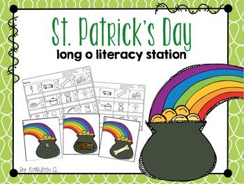 Long o Literacy Station