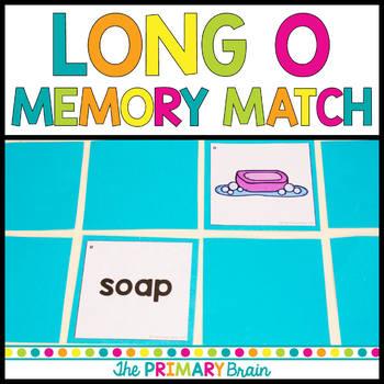 Long o Memory Match Game