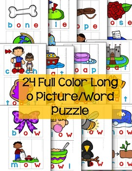 Long o Pattern Word Puzzles