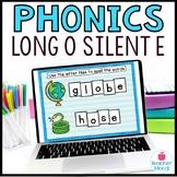 Long o Silent e Digital Phonics Word Work Google Classroom