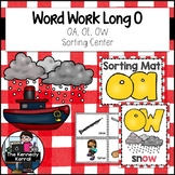 Word Work: Long O Vowel Teams OA, OE, OW