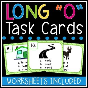 Long o Task Cards