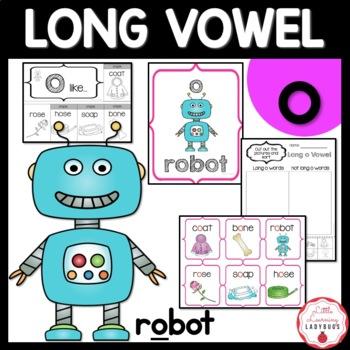Long o Vowel Pack