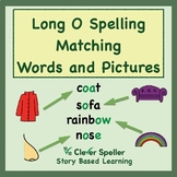 Long o Vowel Sound Matching Words and Pictures