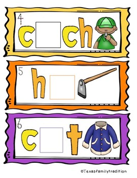 Long o Vowel Team Task Cards